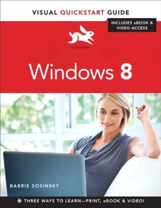 Windows 8: Visual QuickStart Guide (Paperback)-cover