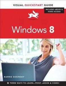 Windows 8: Visual QuickStart Guide (Paperback)-cover