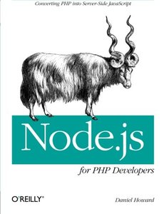 Node.js for PHP Developers: Porting PHP to Node.js (Paperback)-cover