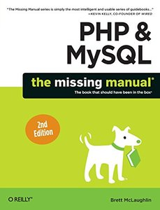 PHP & MySQL: The Missing Manual, 2/e (Paperback)-cover