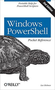 Windows PowerShell Pocket Reference, 2/e (Paperback)-cover