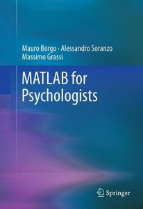 MATLAB for Psychologists (Hardcover)-cover