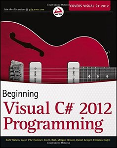 Beginning Visual C# 2012 Programming (Paperback)-cover