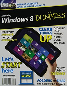 Exploring Windows 8 For Dummies (Paperback)-cover