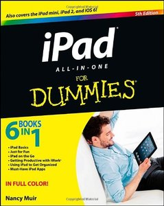iPad All-in-One For Dummies (For Dummies (Computer/Tech))-cover