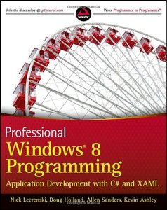 Professional Windows 8 Programming: Application Development with C# and XAML (Paperback)-cover