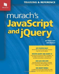 Murach's JavaScript and jQuery (Paperback)-cover