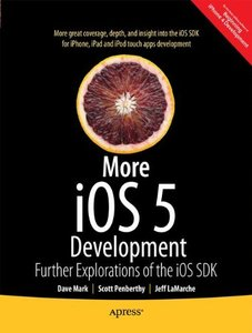 More iOS 6 Development: Further Explorations of the iOS SDK (Paperback)-cover