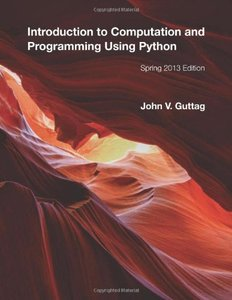 Introduction to Computation and Programming Using Python (Paperback)-cover