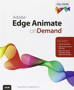Adobe Edge Animate on Demand (Paperback)-cover