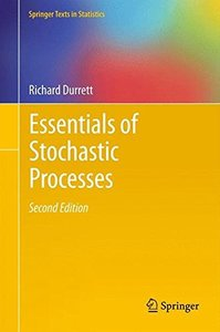 Essentials of Stochastic Processes, 2/e (Hardcover)-cover