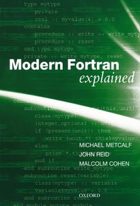 Modern Fortran Explained, 4/e (Paperback)-cover