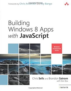 Building Windows 8 Apps with JavaScript (Paperback)-cover