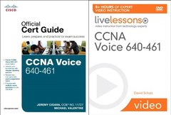 CCNA Voice 640-461 Official Cert Guide and LiveLessons Bundle-cover