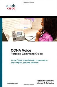 CCNA Voice Portable Command Guide (Paperback)-cover