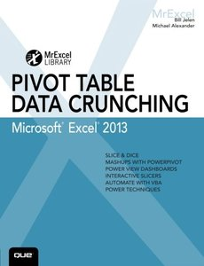 Excel 2013 Pivot Table Data Crunching (Paperback)-cover