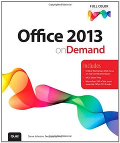 Office 2013 On Demand (Paperback)-cover