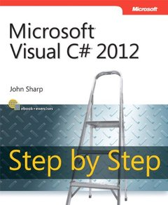 Microsoft Visual C# 2012 Step By Step (Paperback)-cover
