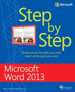 Microsoft Word 2013 Step by Step (Paperback)-cover