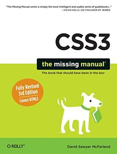CSS3: The Missing Manual, 3/e (Paperback)-cover