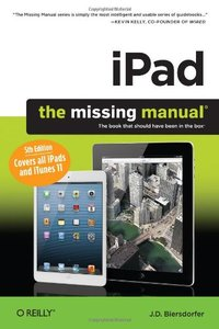 iPad: The Missing Manual, 5/e (Paperback)-cover