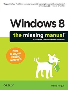 Windows 8: The Missing Manual (Paperback)-cover