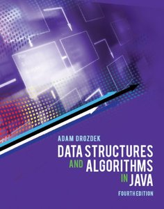 Data Structures and Algorithms in Java, 4/e (Paperback)-cover