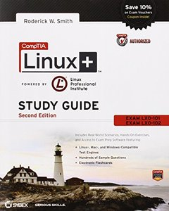 CompTIA Linux+ Study Guide: Exams LX0-101 and LX0-102, 2/e (Paperback)-cover