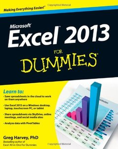Excel 2013 For Dummies (Paperback)-cover