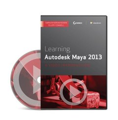 Learning Autodesk Maya 2013: A Video Introduction (DVD-ROM)-cover