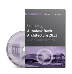 Learning Autodesk Revit Architecture 2013: A Video Introduction (DVD-ROM)-cover