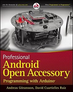 Professional Android Open Accessory Programming with Arduino (Paperback)-cover