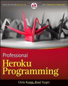 Professional Heroku Programming (Paperback)-cover