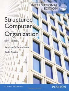 Structured Computer Organization, 6/e (IE-Paperback)-cover