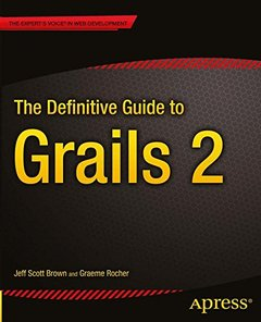The Definitive Guide to Grails 2 (Paperback)-cover