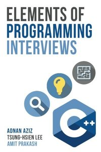 Elements of Programming Interviews: The Insiders' Guide (Paperback)-cover