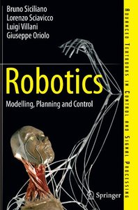 Robotics: Modelling, Planning and Control (Paperback)-cover