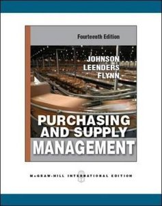 Purchasing and Supply Management, 14/e (IE-Paperback)-cover