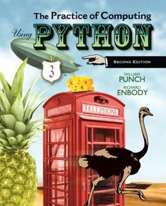 The Practice of Computing Using Python, 2/e (Paperback)-cover