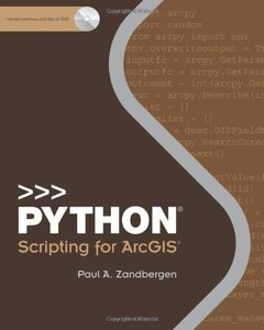 Python Scripting for ArcGIS (Paperback)-cover