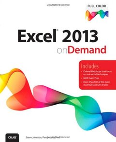Excel 2013 On Demand (Paperback)-cover