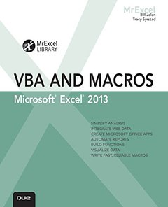 Excel 2013 VBA and Macros (Paperback)-cover