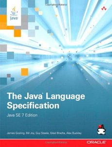 The Java Language Specification, Java SE 7 Edition (Paperback)-cover