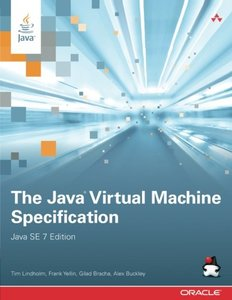 The Java Virtual Machine Specification, Java SE 7 Edition (Paperback)-cover