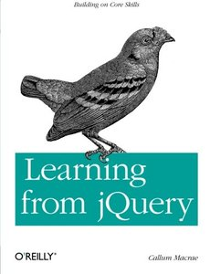 Learning from jQuery (Paperback)-cover