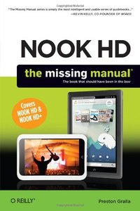 NOOK HD: The Missing Manual, 2/e (Paperback)-cover
