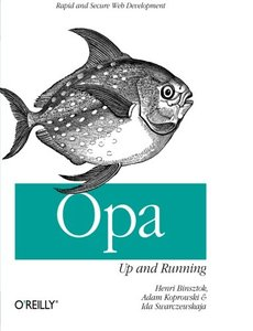 Opa: Up and Running-cover