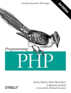 Programming PHP, 3/e (Paperback)-cover