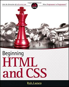 Beginning HTML and CSS (Paperback)-cover
