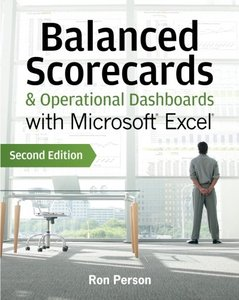 Balanced Scorecards and Operational Dashboards with Microsoft Excel, 2/e (Paperback)-cover